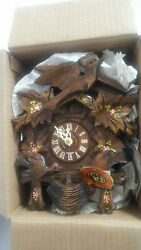 Original Black Forest Cuckoo Clock Germany Lador Swiss Musical Movement