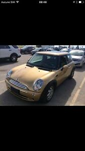 Good deal!! Mini Cooper hardtop clean title not safety
