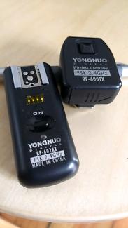 Yongnuo wireles controller rf602rx rf600tx