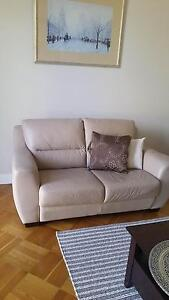2-seater Leather Sofa(Freedom), vgc Brighton East Bayside Area Preview