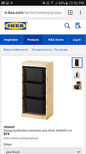 IKEA Trofast storage tower and bins Adelaide CBD Adelaide City Preview