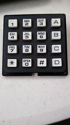 1 Piece 4x4 Keypad For Microprocessor, Arduino, Raspberry Pi 16 Keys 9 Pins