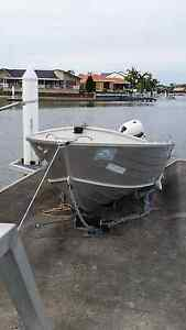 Quintrex boat SOLD Runaway Bay Gold Coast North Preview