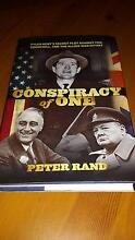 Book: Conspiracy of One By Peter Rand 9780762786961 (Hardback) Bassendean Bassendean Area Preview