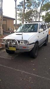 1998 Nissan Terrano II Wagon Long Rego Georges Hall Bankstown Area Preview