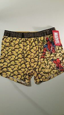 Deadpool Dirty Taco To Me Boxers L Mens Underwear Briefs Marvel X Men