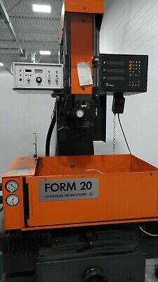 Edm Charmilles Form 20 1992 With Isocut Orbitor 3 Axis Dro Ram Type
