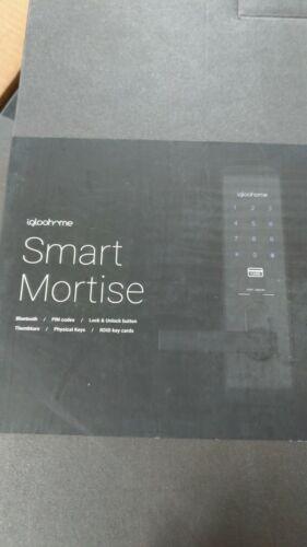igloohome IGM1 Smart Mortise Lock, Black