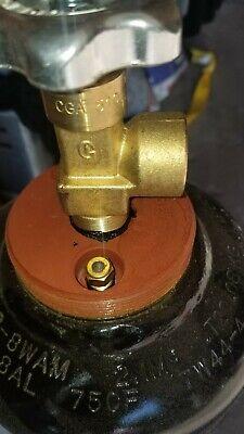 75 Cuft 3 Acetylene Welding Gas Cylinder Tank Cga 510 - Empty