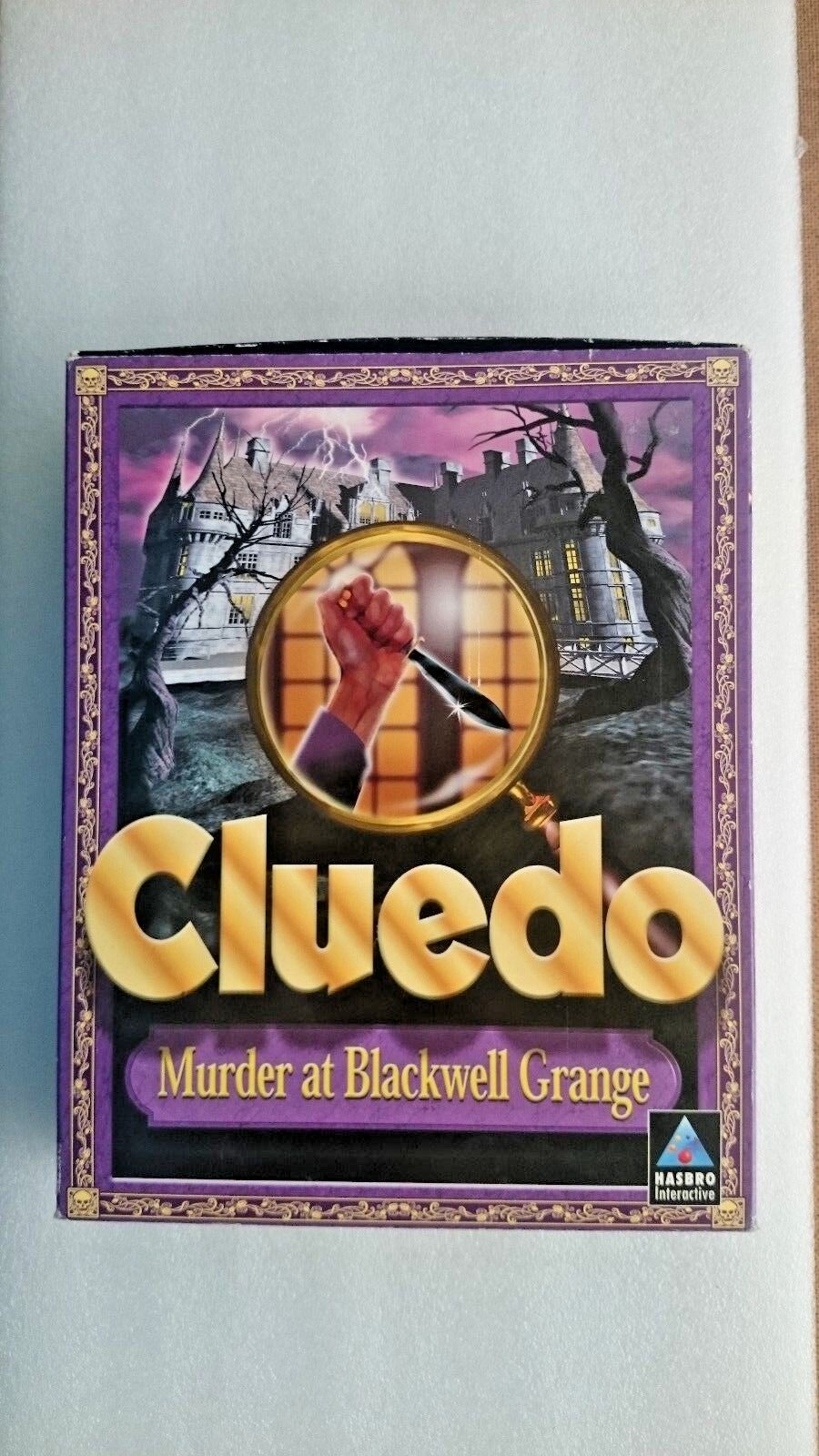 Cluedo: Murder at Blackwell Grange (PC: Windows, 1998) - Big Box Edition