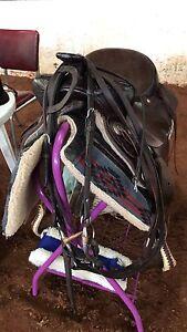 Western saddle package