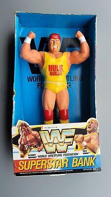 "wwf ljn hasbro wrestling superstars 14"" hulk hogan wrestling figure"