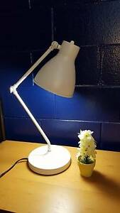 Cream white table study lamp Murdoch Melville Area Preview