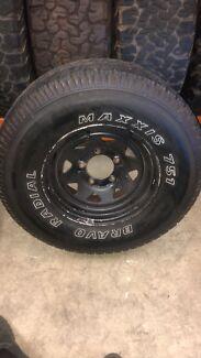 Toyota landcruiser wheel and tyre Marangaroo Wanneroo Area Preview