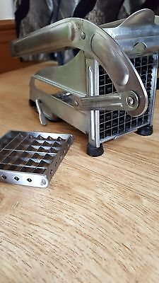 Potato chipper, stainless steel 2 size of blades