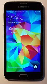 Samsung Galaxy S5 - 16GB - Unlocked - Black - AU