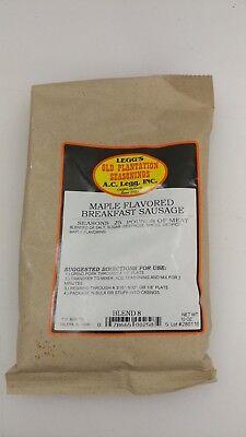 Maple Flavored Breakfast Sausage Seasoning