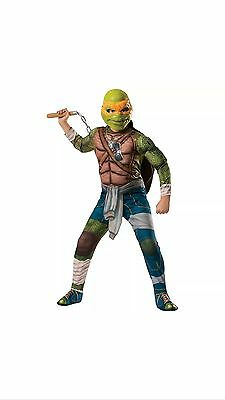 Ninja Turtle Costume Michelangelo Large 12-14