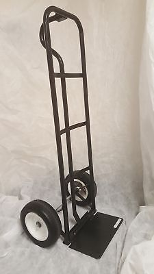 600 Lb Pound Capacity Hand Truck With 2 10 Flat-free Tires
