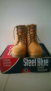 Steel cap boots size 13 Jamboree Heights Brisbane South West Preview