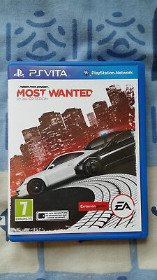 [PS Vita]Need for Speed : Most wanted PS VITA