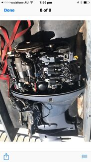 Yamaha outboard motor 50 hp,4 stroke EFI ( PARTS ONLY)