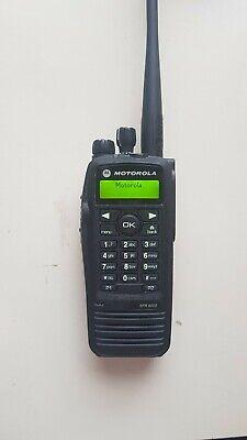 Motorola Xpr 6550 Uhf Portable Model Aah55qdh9la1an