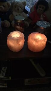 Tea light Himalayan holders