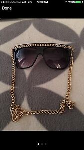 Black with Gold chained sunglasses Georgetown Newcastle Area Preview