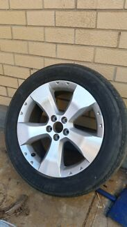 Subaru forrester wheel + tyre Henley Beach Charles Sturt Area Preview