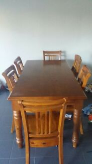 Timber Dining Table - Need to sell ASAP!