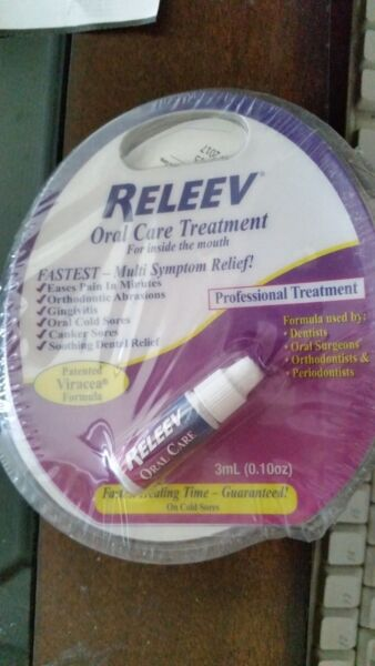 RELEEV Oral Care Treatment 0.10 oz 1