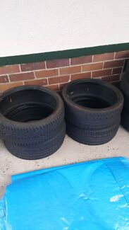 Low profile tires 215/35ZR18 x4 Ryde Ryde Area Preview