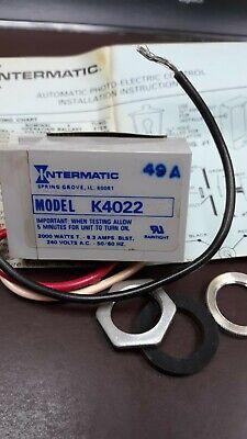 Intermatic Photoelectric Control Model K4022