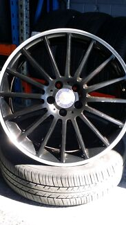 19inch black rims set  Revesby Bankstown Area Preview
