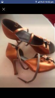 Latin dance shoes 38