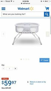 Beautiful- in mint condition Baby bassinet