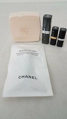 Chanel Cosmetics Beauty Lot Lipsticks, Mascara +
