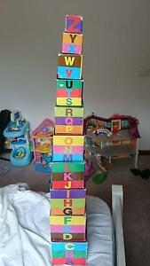 Alphabet nesting stacking blocks Pearce Woden Valley Preview