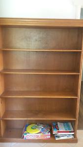 Timber bookcase Golden Beach Caloundra Area Preview