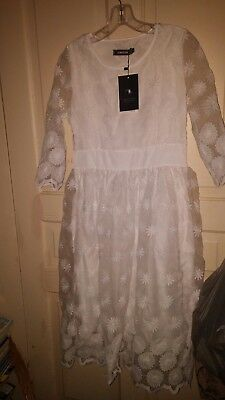 White Dresses For Special Occasions (New white dress for wedding or special occasions, size)