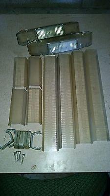 Whelen Liberty Lightbar Clear Replacement Lense Kit W Alleys - 50 Lfl Patriot