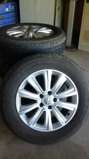 Volkswagon amerok tyres and rims