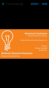 Electrical Contractor Available Padbury Joondalup Area Preview