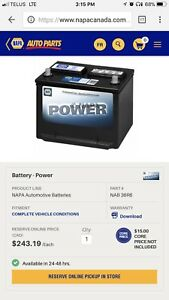 Napa power battery Top post