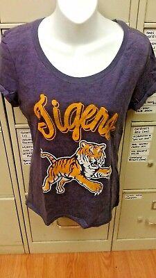 NCAA LSU TIGERS WOMENS  T-SHIRT SIZE MEDIUM NEW - Lsu Tigers Womens T-shirt