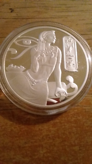 Cleopatra Egyptian Coin