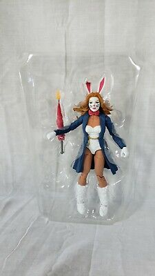 Marvel Legends Spider-Man White Rabbit Figure (Demogoblin BAF)