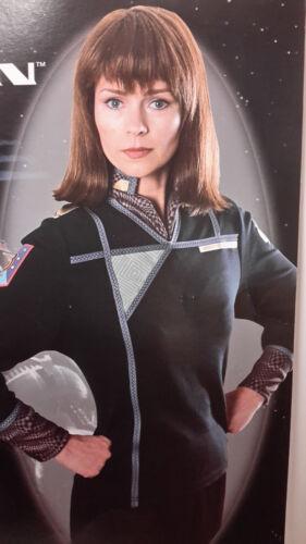 Commander Ivanova BABYLON 5 Costume/Uniform Shirt w Dickie- Size MEDIUM-UNWORN