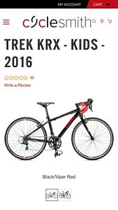 2016 Trek KRX youth road bike
